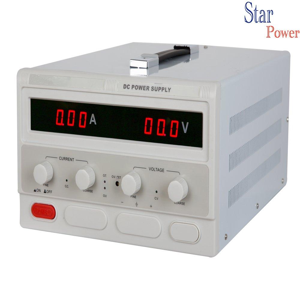 Precision 0-100V,0- 10A Adjustable switch Power Supply Digital Regulated Lab Grade