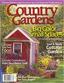 Better Homes And Gardens Country Gardens Summer 2008