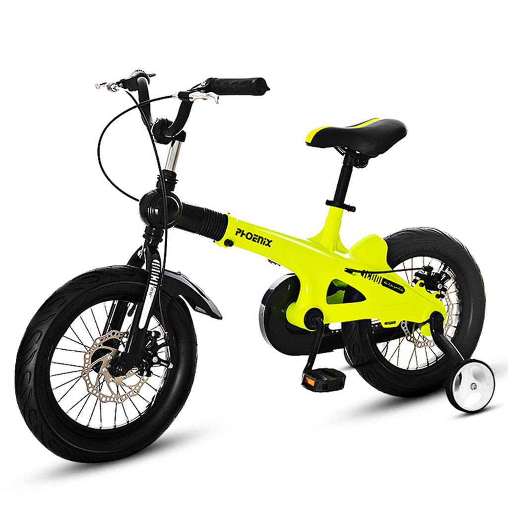 子供用自転車3-7 / 5-11歳の子供用自転車14/16インチのベビーカー ( Size : 16 inch yellow ) B07DVS7D2Z