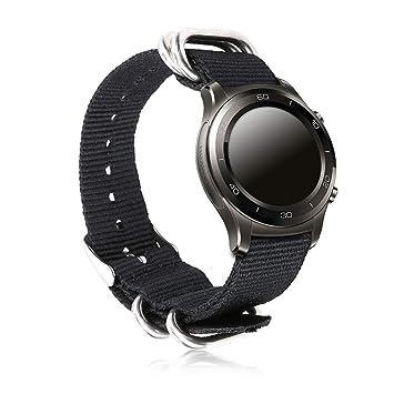 kwmobile Pulsera para Huawei Watch/Nokia Steel HR (36mm ...