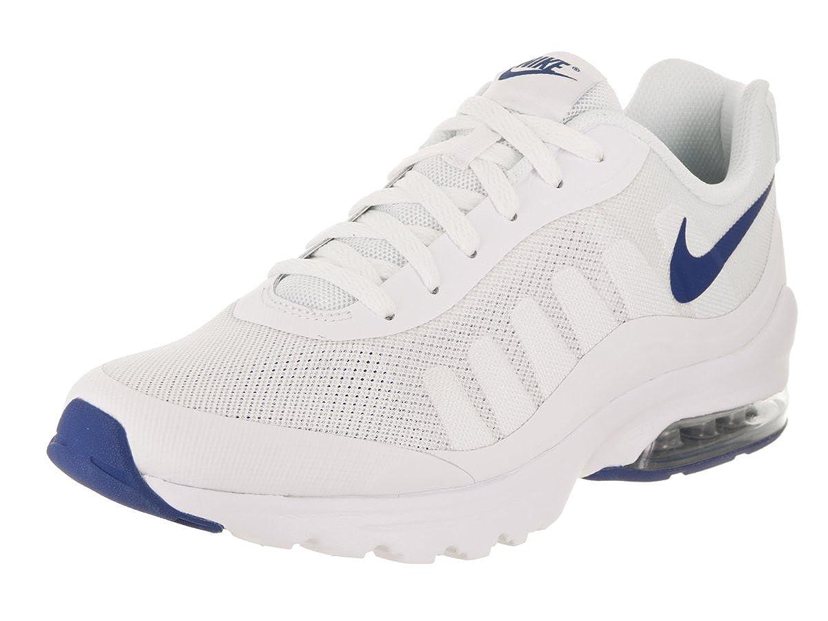 Nike Men's Air Max Invigor WhiteGym Blue Ankle High Fabric