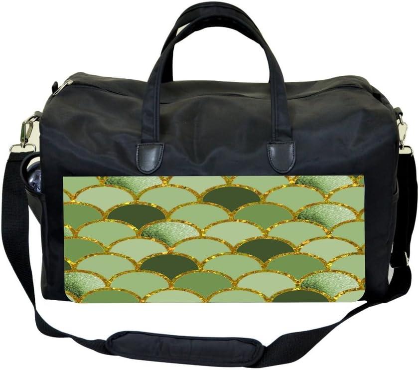 Gilded Scallops Sports Bag