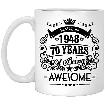 Amazon 70th Birthday Mug