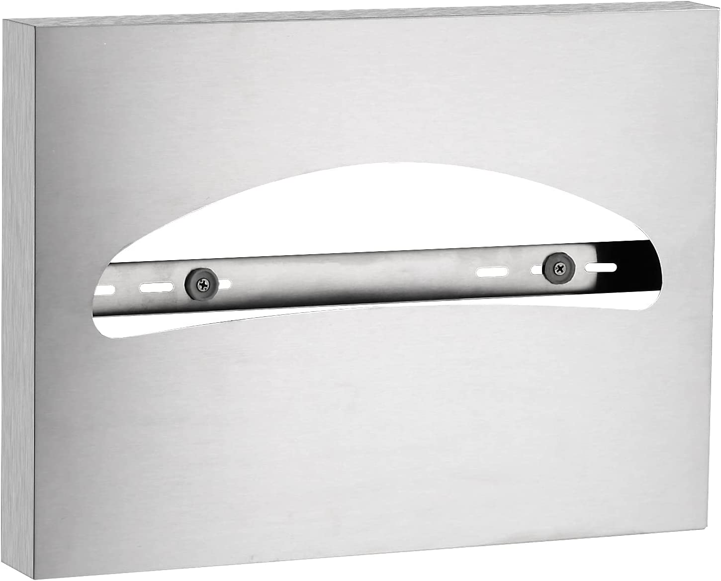 Gorlary Toilet Seat Cover Dispenser Wall Mounted SUS 304 Stainless Steel Brushed: Home & Kitchen