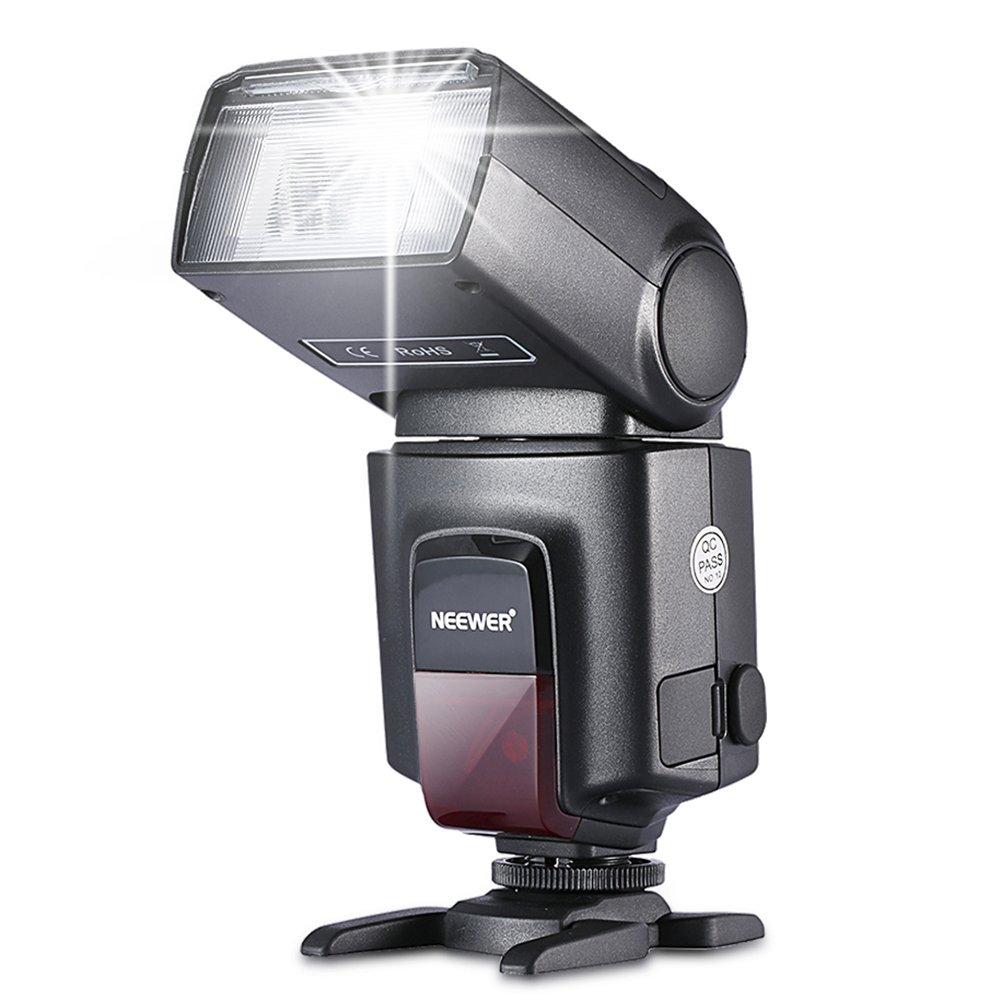 Neewer TT560 Flash para cámaras réflex digitales Canon Nikon