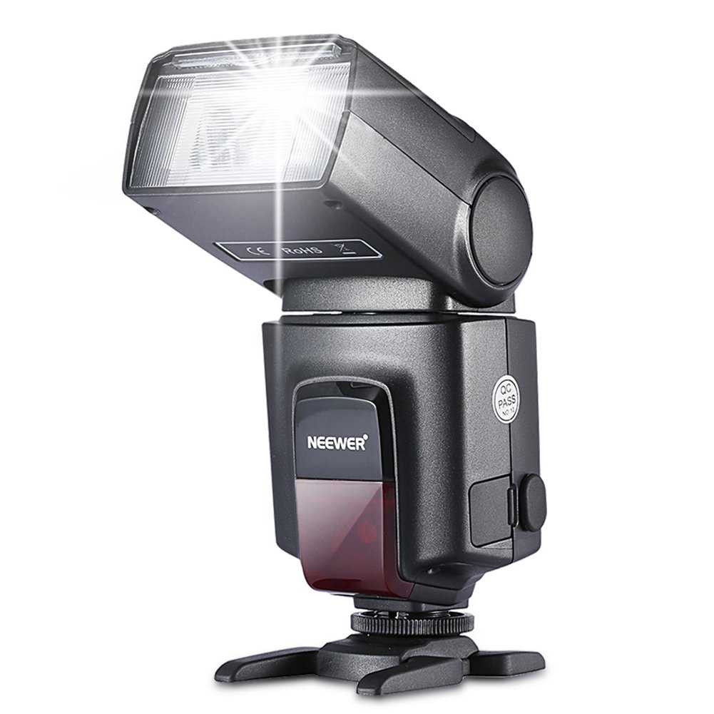 Neewer TT560 Flash Speedlite for Canon Nikon Panasonic Olympus Pentax and Other DSLR Cameras,Digital Cameras with Standard Hot Shoe by Neewer