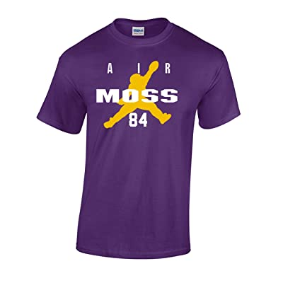 "The Silo PURPLE Minnesota Randy Moss ""Air Moss"" T-Shirt"