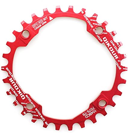 Steel Bicycle Chainring 32T 104 BCD with 4 Chainring Bolts for Mountain Bike MTB