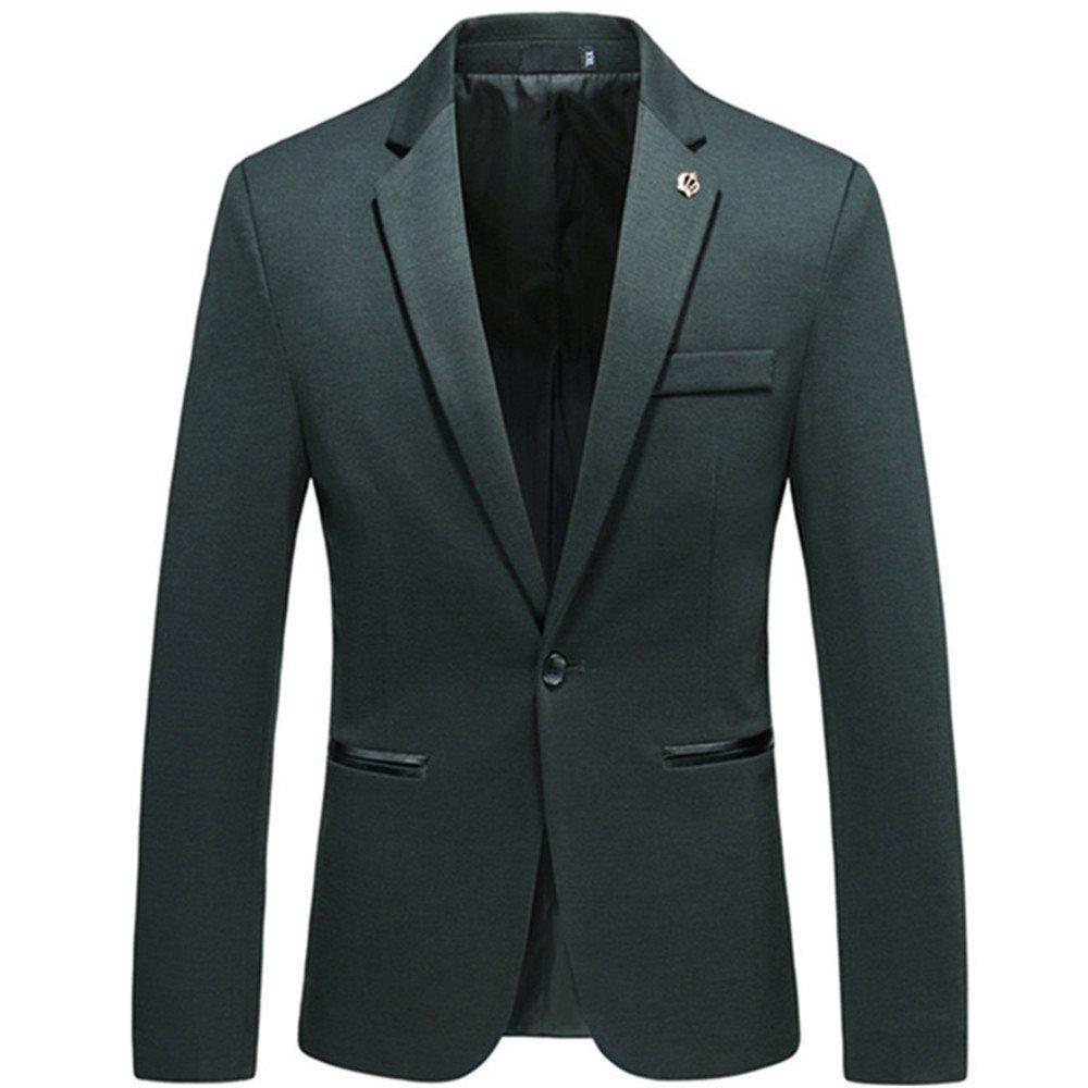 Sndofej männer im Anzug männer ist lässig, Aber auch Westen Mantel größe Freizeitanzug,grüne,XL