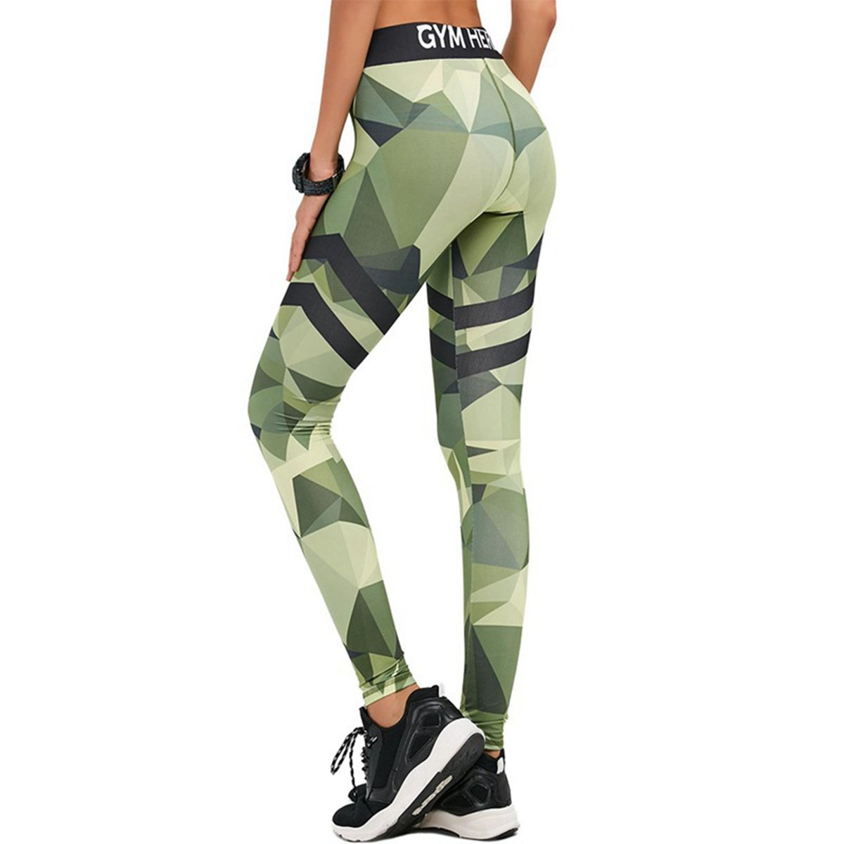 Edove PANTS レディース B075K6Q9PX Green|S S Green