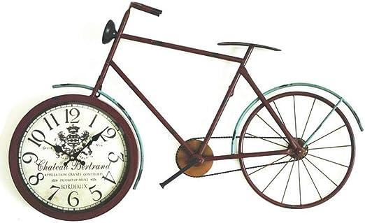 Colgante De Pared De Hierro En Forma De Bicicleta Reloj De ...