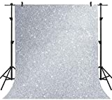 Silver Gray Photography Backdrop 5x7ft Romantic Background Wedding Party Decoration Studio Props PHMOJEN LXPH002