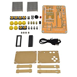 LyhomeO Kit di Gioco di Elettronica innovativa Fai da Te V2 con Tastiera umanizzata Controllo Pulsanti di Grande Layout, Kit sperimentale elettronico Innovativo a Conchiglia Piatta