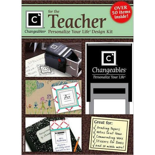 Changeables Personalize Your Life Design Kit Stamp for the Teacher (Over 50 items)