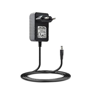 Adaptador de alimentación de repuesto de Aukru de 12 V, cable cargador para sintetizador Yamaha