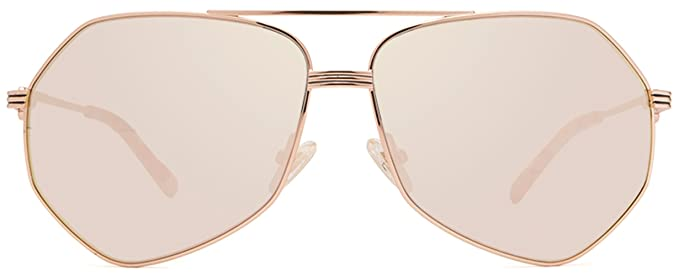 18cb800a3de Amazon.com  Diff Eyewear  Sydney - Designer Aviator Sunglasses - 100 ...