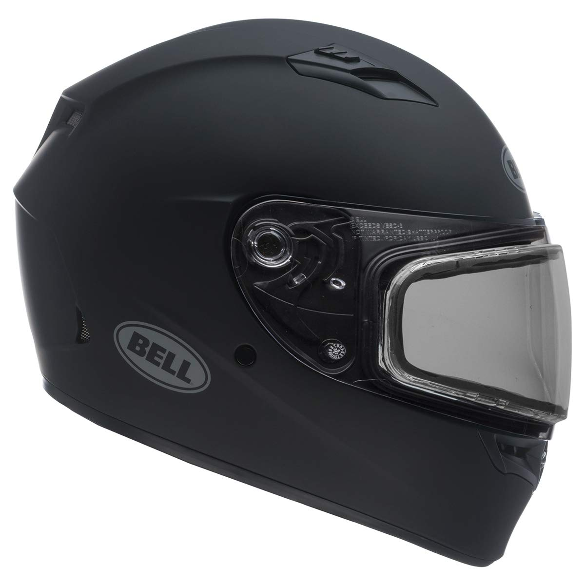 Bell Unisex-Adult Full Face Helmet (Reflective Green, Medium) (Qualifier Snow Dual Shield D.O.T Certified Snow Off Road) 7076046