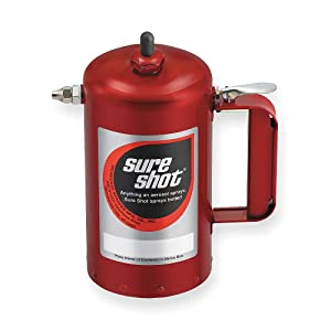 1 Quart Enameled Steel Sprayer, Red