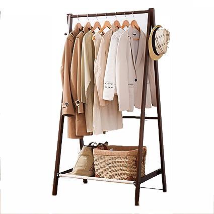 Amazon.com: Perchero de madera creativo para dormitorio con ...
