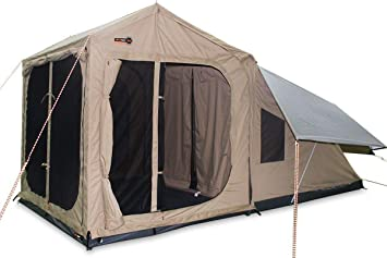 on sale 934dd 1810b Amazon.com : OzTent RX-5 Deluxe 2 Room Tent - ORX5COMBOA ...