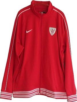 Athletic Club Bilbao 2013-14 Nike TS Core chaqueta de entrenamiento para hombre rojo XXL: Amazon.es: Deportes y aire libre