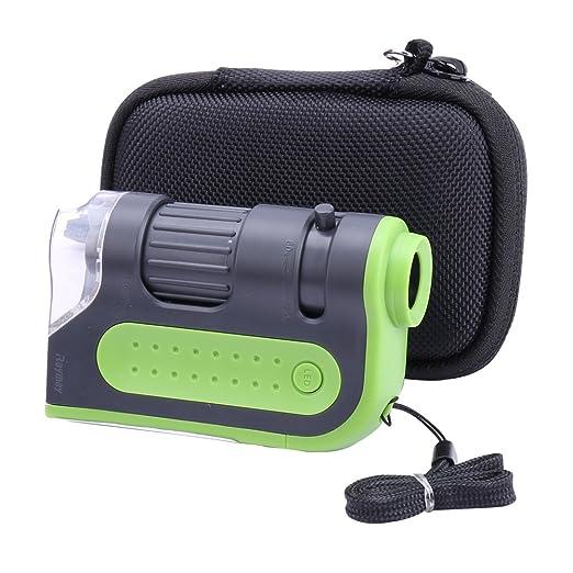 Hart Taschen Hülle Für Carson 60 120x Microbrite Plus Taschenmikroskop Von Aenllosi Gewerbe Industrie Wissenschaft