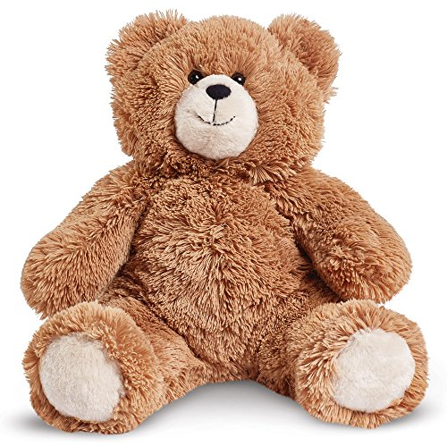 Fuzzy Teddy Bear (Vermont Teddy Bear - Fuzzy Soft & Cuddly Bear, 18 inches, Brown)