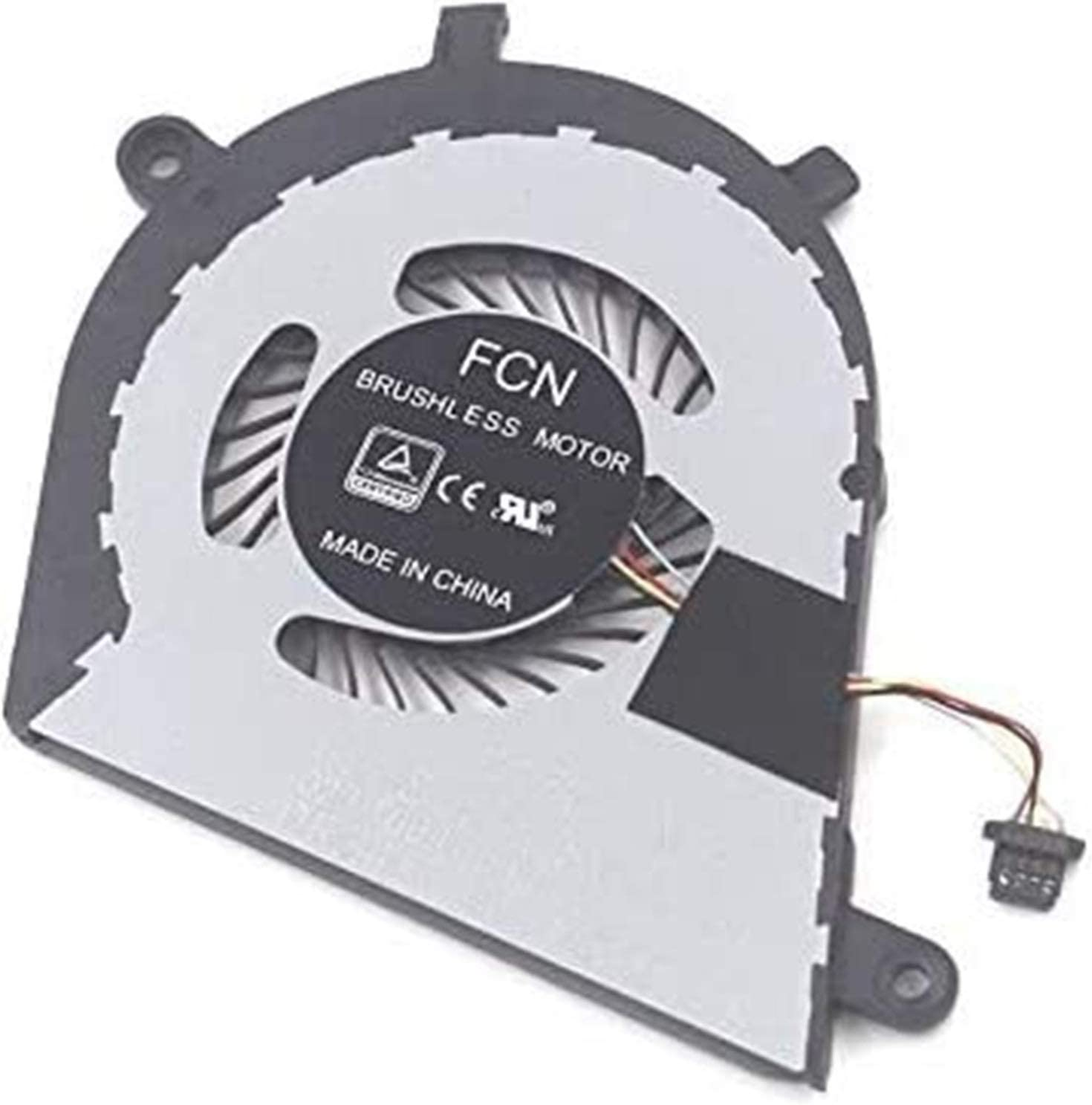 CPU Fan New Laptop CPU Cooling Fan Replacement for Dell Inspiron 7373 7370 I7373-5558GRY-PUS P83G DJFK0 0DJFK0 Accessories.
