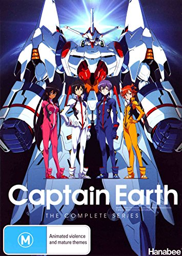 Captain Earth | 4 Discs | Anime & Manga | NON-USA Format | PAL | Region 4 Import - Australia