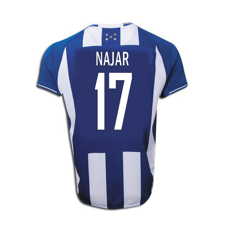 Joma Najar #17 Honduras Away Soccer Jersey -Youth/サッカーユニフォーム ホンジュラス アウェイ用 ナハル 背番号17 ジュニア向け B011J5SE16 YS