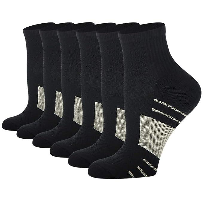 Amazon.com: Calcetines de compresión de cobre para hombres y ...