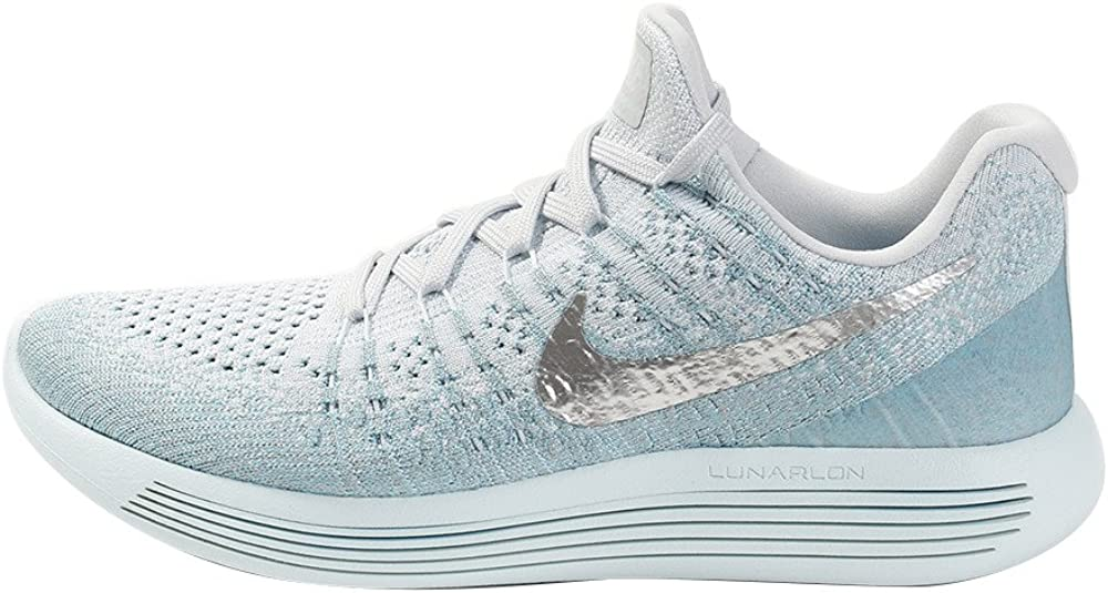Nike Women s Lunarepic Low Flyknit 2 Running Shoe 7 Blue