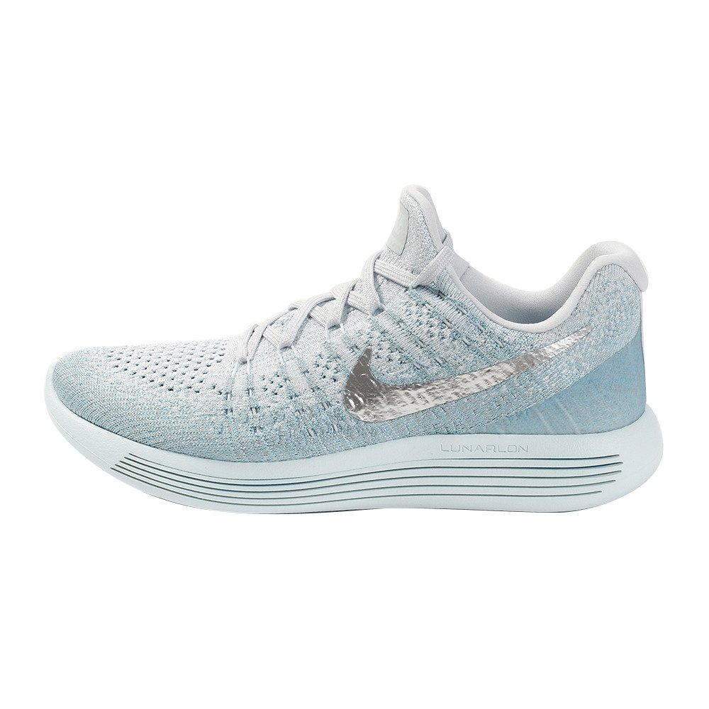 rival Enciclopedia impactante  Buy Nike Women's W Lunarepic Low Flyknit 2 Glacier Blue/M.Silver Running  Shoes-5 UK (38.5 EU) (7.5 US) (863780-405) at Amazon.in