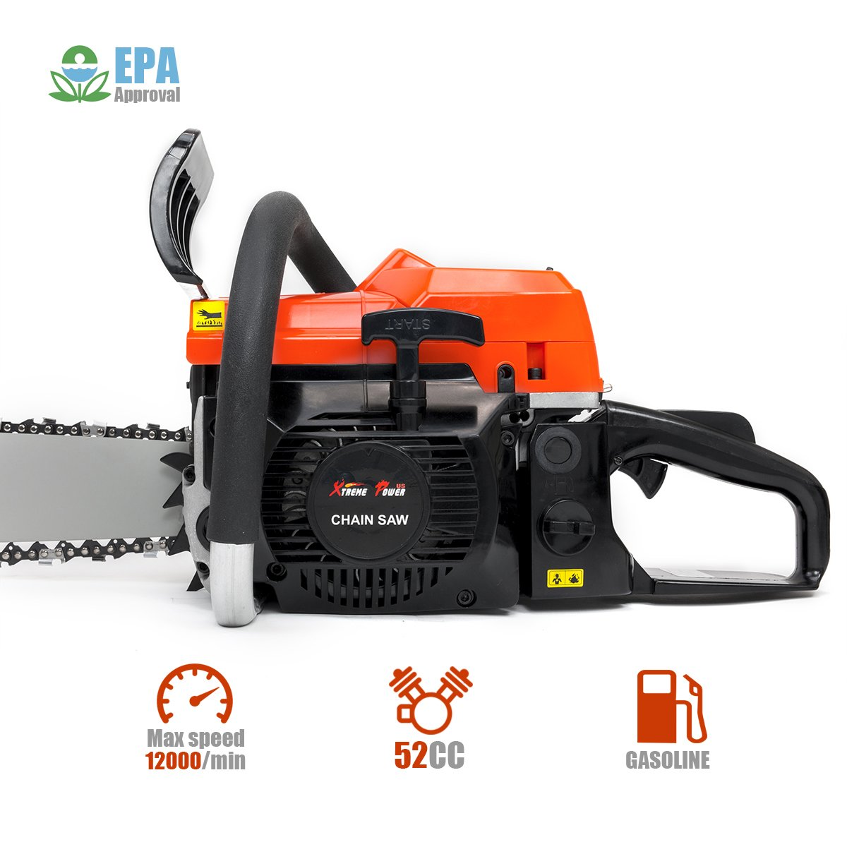 XtremepowerUS 52cc 2 Stroke Chainsaws product image 4