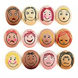 Yellow Door YD-21 Emotion Stones with Faces Showing