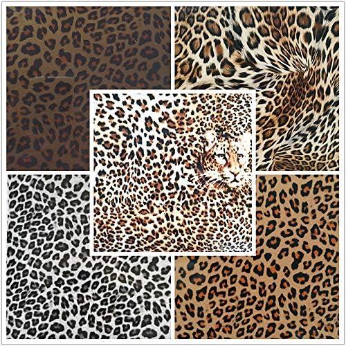 LEOPARD SPOTS PATTERN #1 Pattern #1 Heat Transfer or Adhesive Vinyl CHOOSE YOUR SIZE Leopard Spots Pattern /…