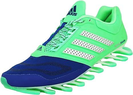 adidas Performance Springblade Drive 2 Zapatillas para Correr Running Verde Azul para Hombre Techfit: Amazon.es: Deportes y aire libre