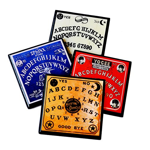 Vintage Halloween Spirit Board Drink Coaster Set for $<!--$20.00-->
