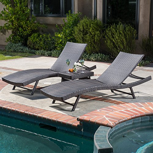 ALOHA WICKER CHAISE LOUNGER SET (Aloha Lounge)