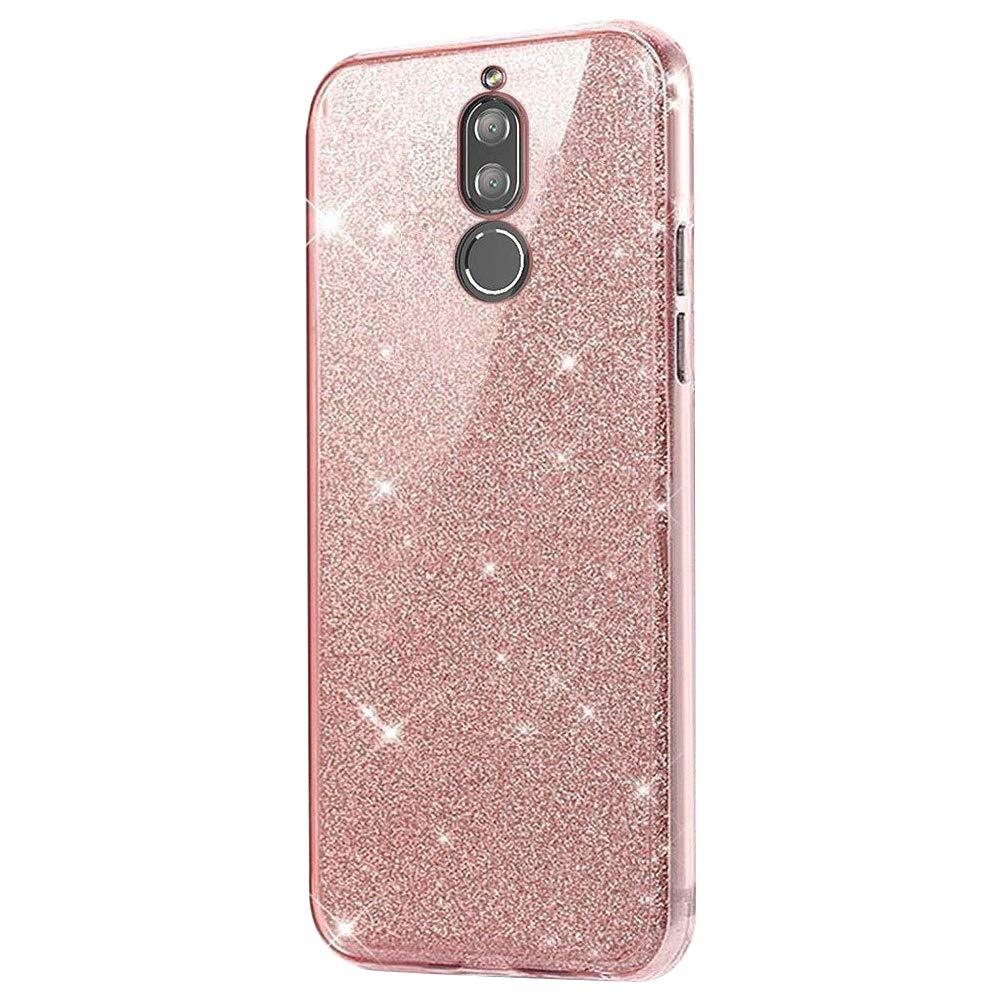 Felfy Huawei Mate 20 Lite Coque de Protection en Silicone TPU Souple à 360° pour Huawei Mate 20 Lite Transparent Okssud DYY2018002437#06