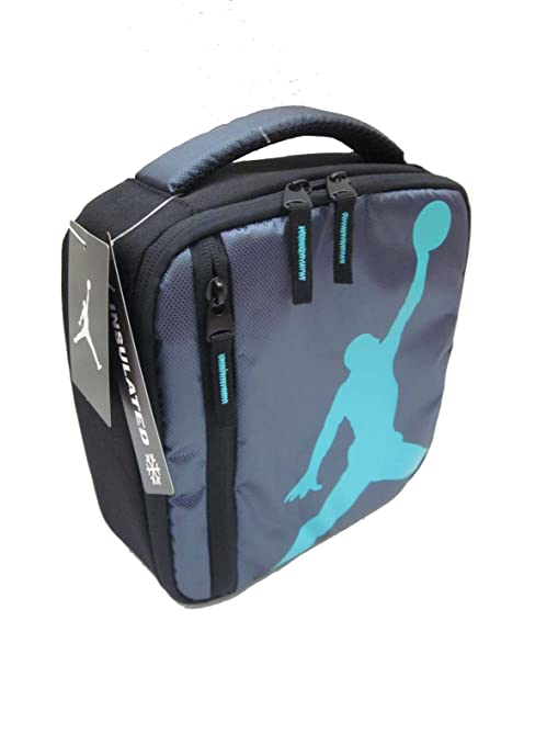 Amazon.com: Nike Air Jordan Insulated Lunch Box: Sports ...