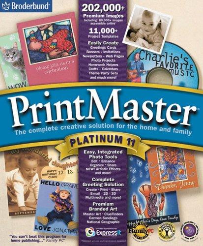 printmaster deluxe 11