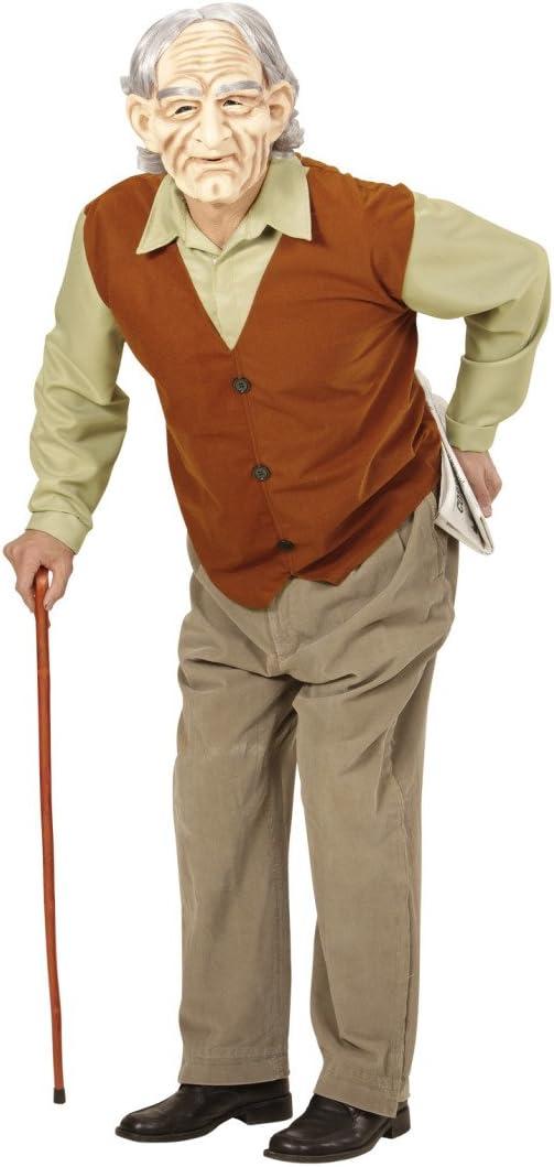 Amakando Traje de señor Mayor Disfraz Abuelo XL 54 Outfit abuelete ...