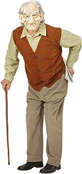 Amakando Traje de señor Mayor Disfraz Abuelo M/L 50/52 Outfit ...