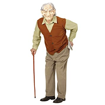 Brand New Grandpa Old Man Grandfather Child Costume