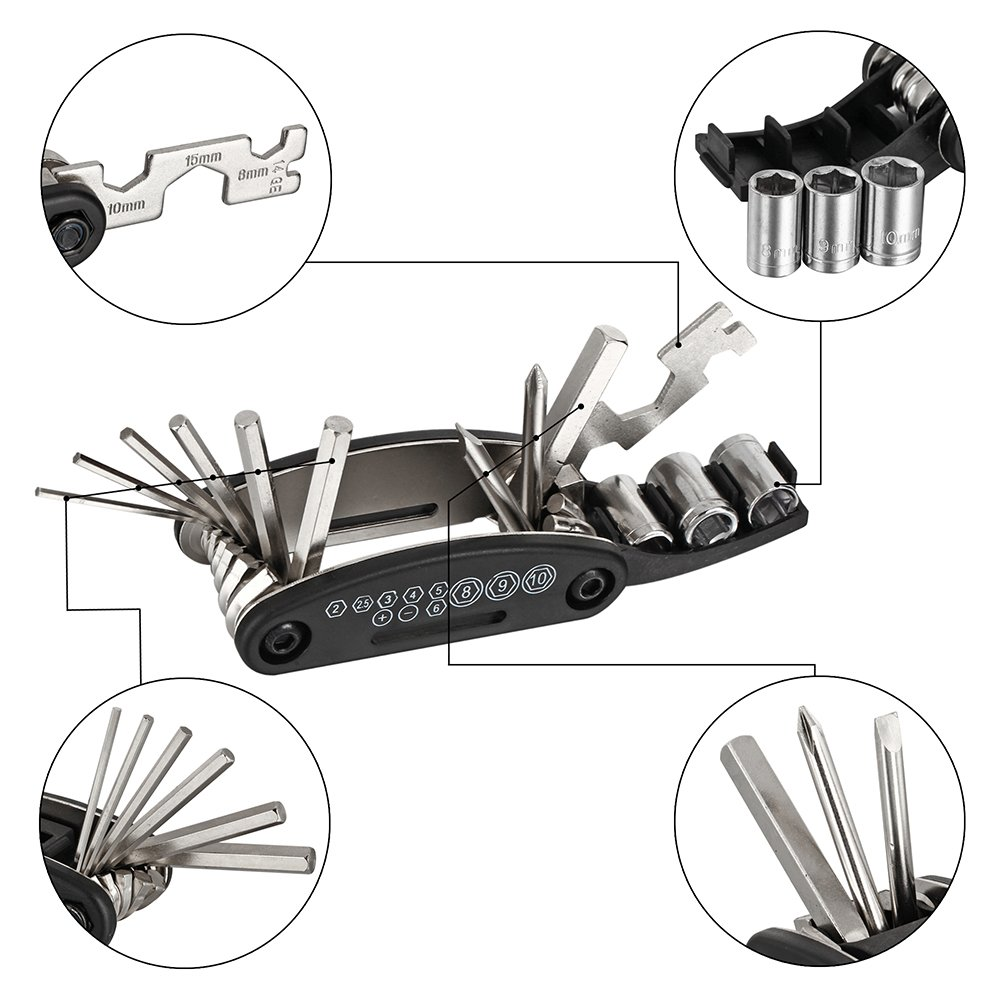 Bike fixing tool kit