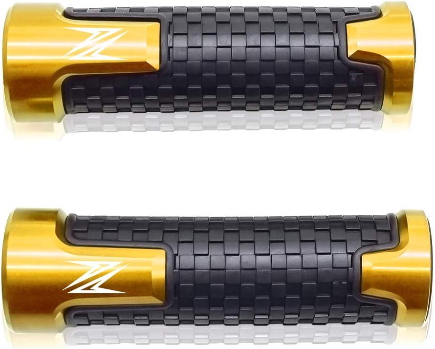 Motorcycle motorcycle 22mm 7//8 Handlebar End For Kawasaki Z250 i Z400 Z650 Z750 Z800 Z900 Z900RS Z1000 Black