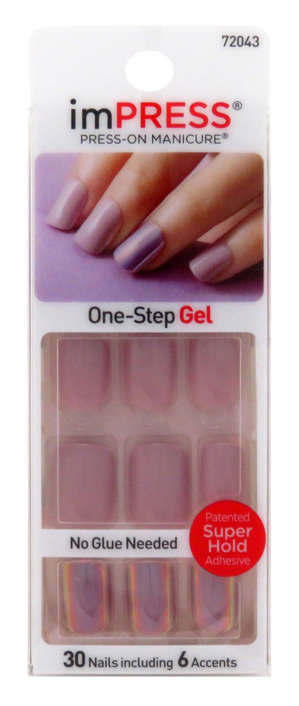 Kiss Impress Press-On Nails One Step Gel Goal Digger (2 Pack) by KISS