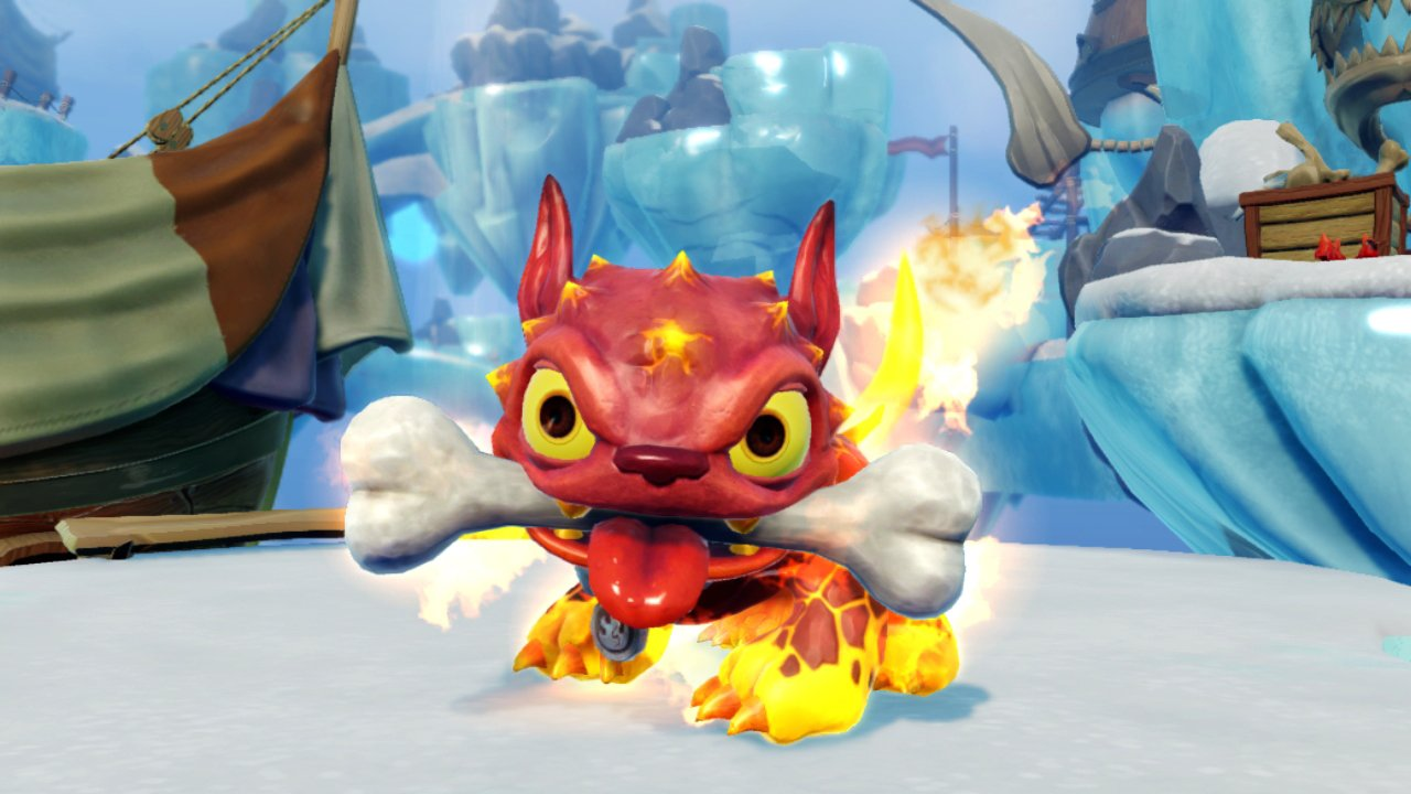 Skylanders SWAP Force: Fire Bone Hot Dog Character by Activision (Image #4)