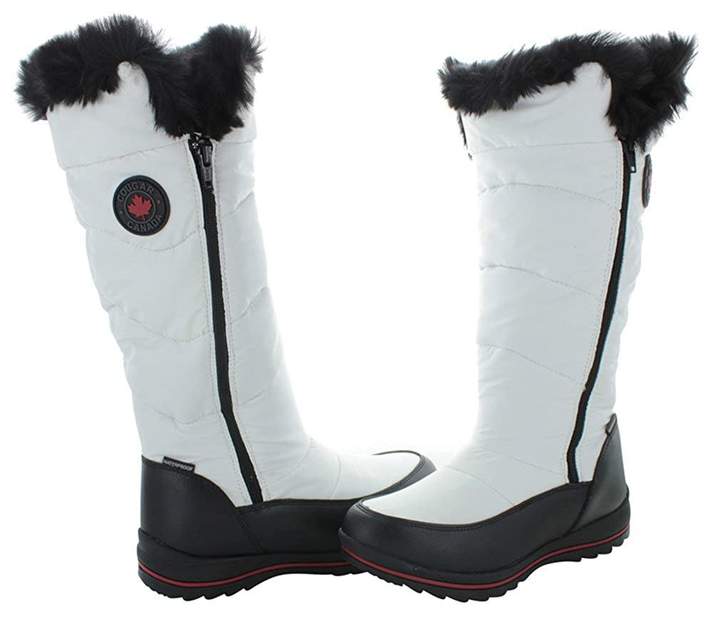 bcb73e56b75e3 Cougar Bistro Womens Waterproof Nylon Winter Snow Boots White Size 9: Buy  Online at Low Prices in India - Amazon.in